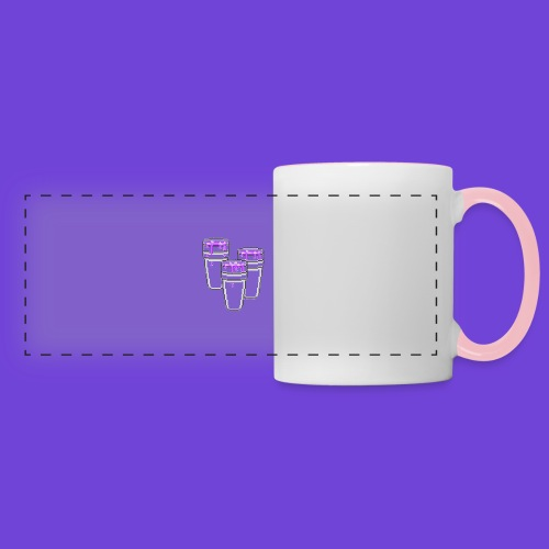 Purple - Tazza con vista