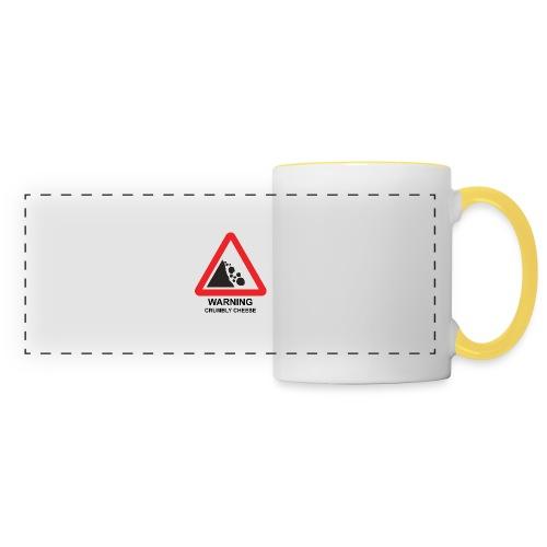 WARNING: CRUMBLY CHEESE - Panoramic Mug