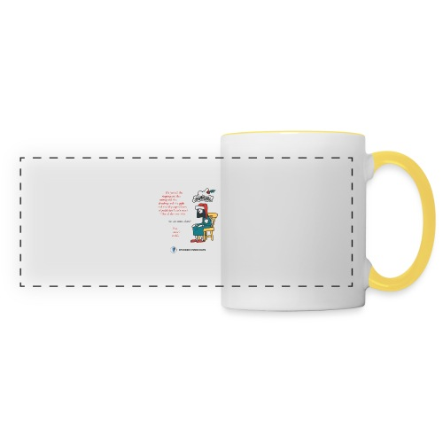 Antigone Funn Christmas - Panoramic Mug