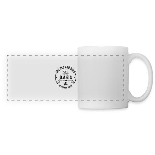 OAB unite black - Panoramic Mug