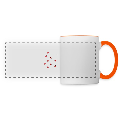 ladybird 2 design tc - Panoramic Mug