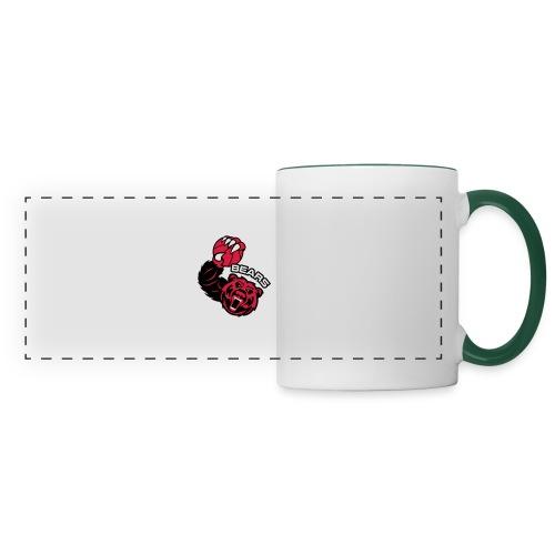 Bears Basketball - Mug panoramique contrasté et blanc