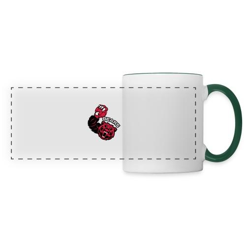 Bears Handball - Mug panoramique contrasté et blanc