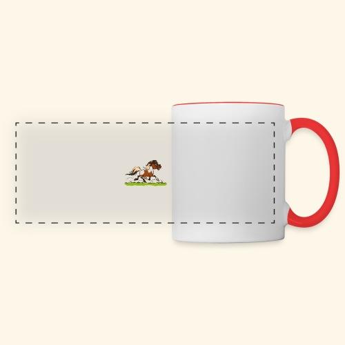 Mein Shetty das Klugste (Text weiss - Mug panoramique contrasté et blanc