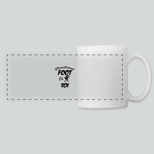 Eternellement Foot de Toi - Mug panoramique contrasté et blanc