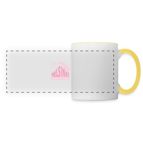 Helsinki light pink - Panoramic Mug