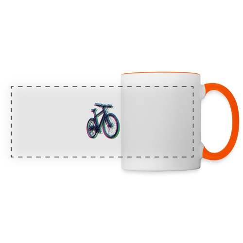 Bike Fahrrad bicycle Outdoor Fun Mountainbike - Panoramic Mug