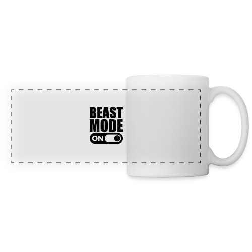 BEAST MODE ON - Panoramic Mug