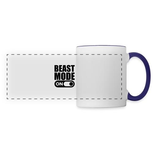 BEAST MODE ON - Panoramic Mug