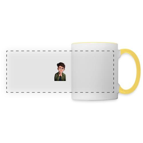 Turtle Vibez Logo - Panoramic Mug