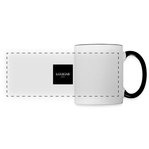 LGUIGNE - Mug panoramique contrasté et blanc
