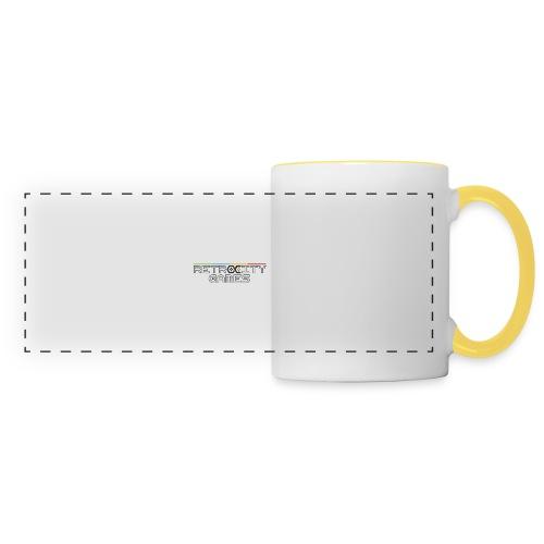 tasse officielle - Mug panoramique contrasté et blanc