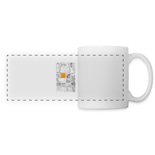 Cubes de Bois - Mug panoramique contrasté et blanc