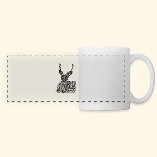 deer black and white - Panoraamamuki
