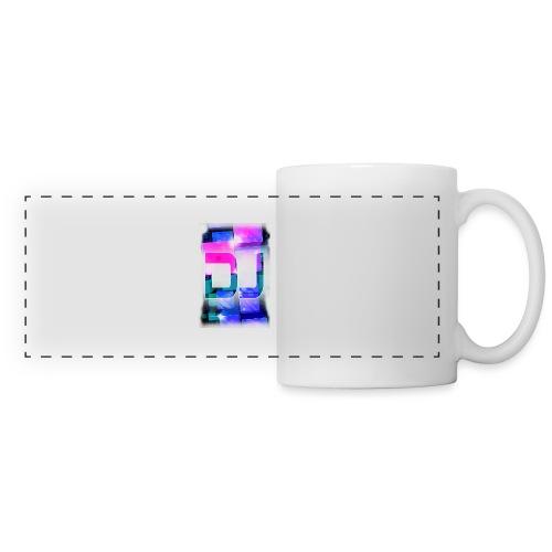 DJ by Florian VIRIOT - Mug panoramique contrasté et blanc