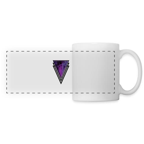 Gothic Glamour Purple Magic Halloween Goth Glam - Panoramic Mug