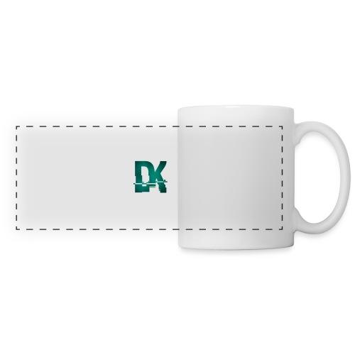 Dk hacked logo tshirt - Mug panoramique contrasté et blanc