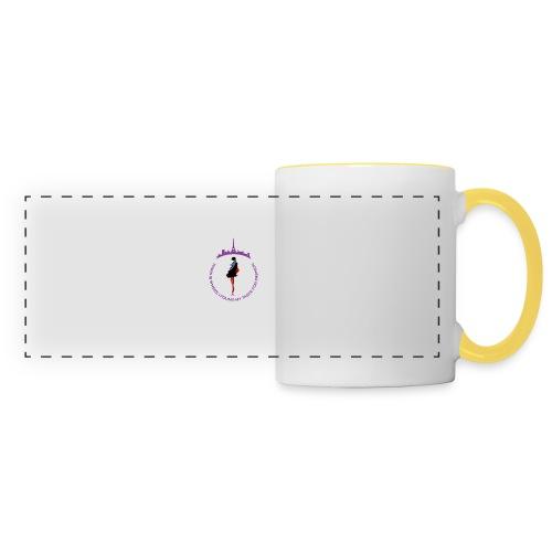 Paris Fashion Design 2 - Mug panoramique contrasté et blanc