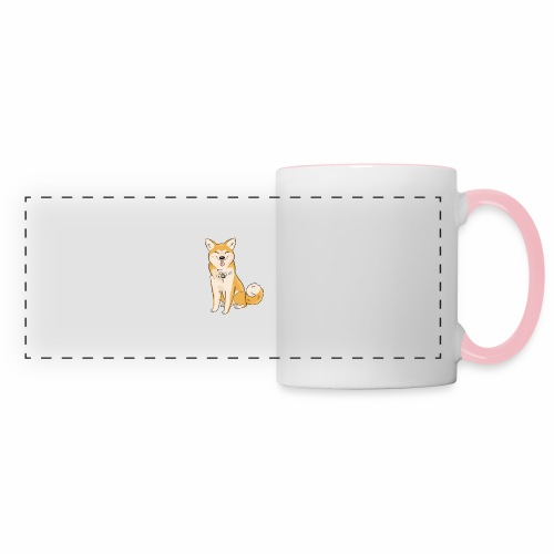 Akita Yuki Logo - Panoramic Mug