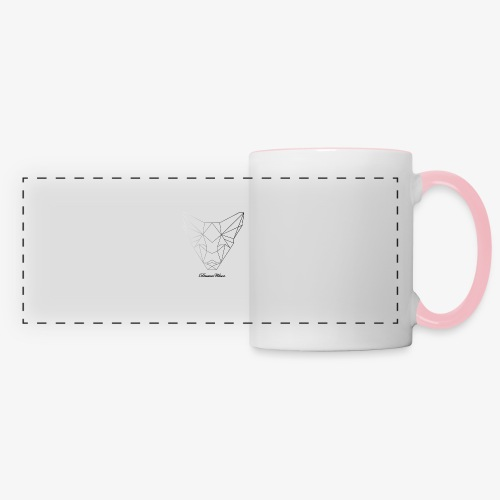 DreamWave Fox/Renard - Mug panoramique contrasté et blanc