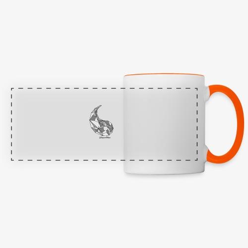 DreamWave Yang - Mug panoramique contrasté et blanc