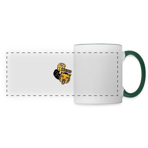 Wolves Basketball - Mug panoramique contrasté et blanc