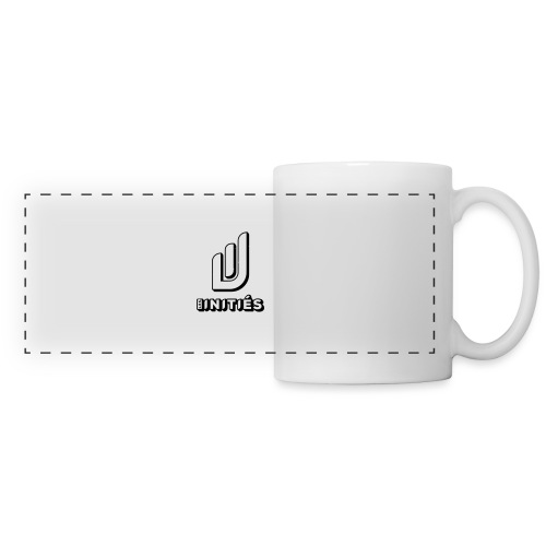 Les initiés - Mug panoramique contrasté et blanc