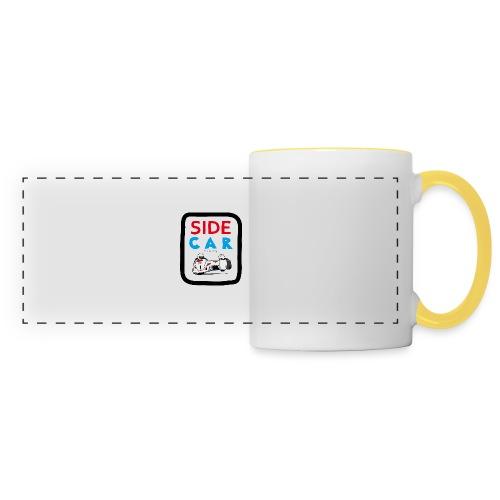 SIDE car racing - Mug panoramique contrasté et blanc