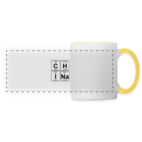 C-H-I-Na (china) - Full - Panoramic Mug