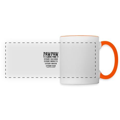 I Love You Pawpaw - Panoramic Mug