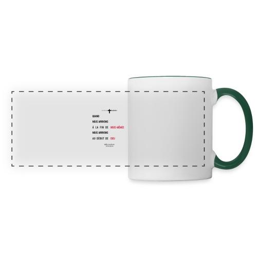 Billy Graham 1918 2018 - Mug panoramique contrasté et blanc