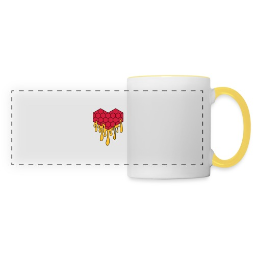 Honey heart cuore miele radeo - Tazza con vista