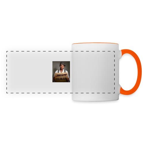 Immigrants are human - Panoramic Mug
