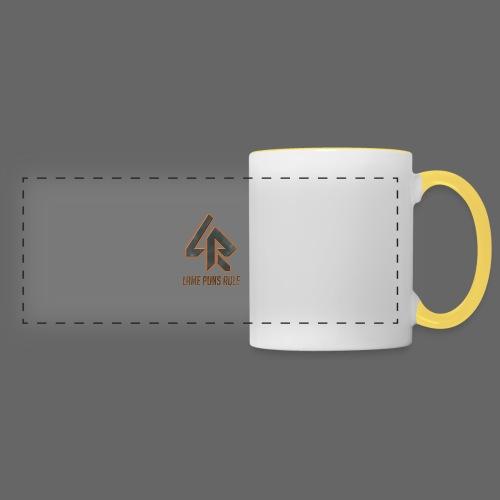 Lame Puns Rule: Logo - Panoramic Mug