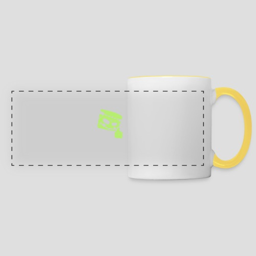 TROLLR Like - Mug panoramique contrasté et blanc