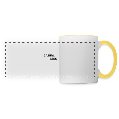 CasualGeek Standard Logo - Panoramic Mug