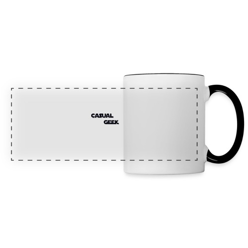 CasualGeek Standard Logo - Panoramic Mug