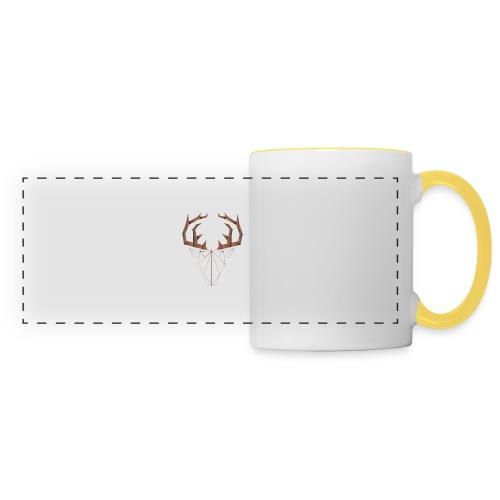 LOW ANIMALS POLY - Mug panoramique contrasté et blanc