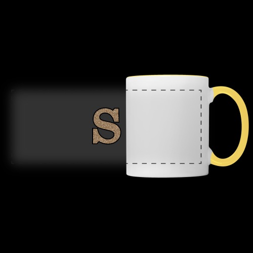 Girls S For Sonnit Golden Sparkle - Panoramic Mug