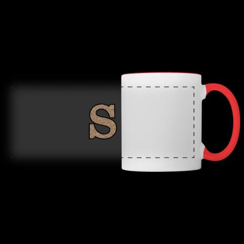 Girls S For Sonnit Golden Sparkle - Panoramic Mug