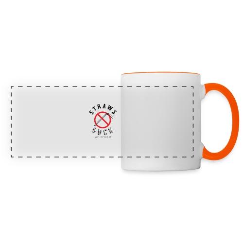 Straws Suck Classic - Panoramic Mug