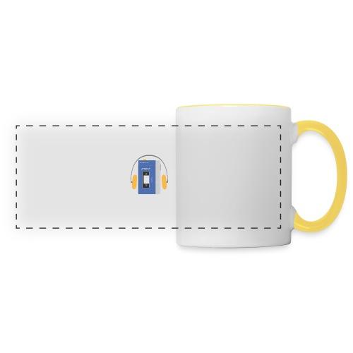 Stereo walkman in blue - Panoramic Mug