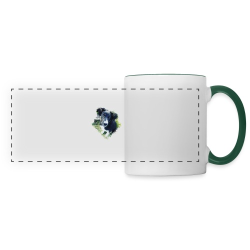 colliegermanshepherdpup - Panoramic Mug