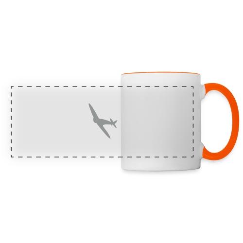 Spitfire Silhouette - Panoramic Mug