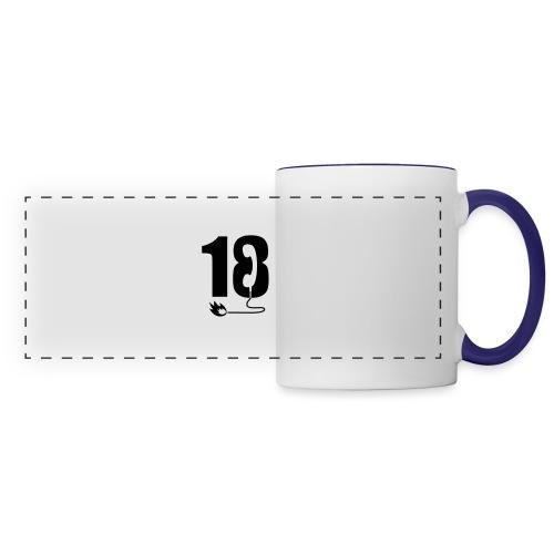 18 - Mug panoramique contrasté et blanc