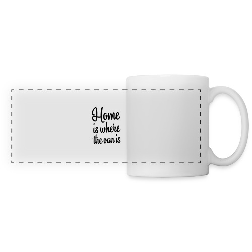 Home is where the van is - Autonaut.com - Panoramic Mug