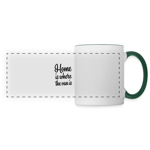 Home is where the van is - Autonaut.com - Panoramic Mug