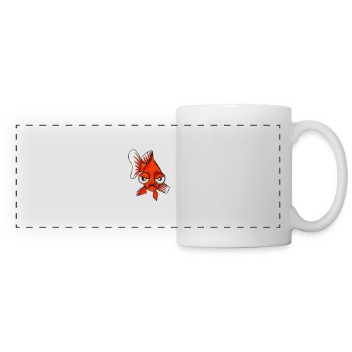 Angry Fish - Mug panoramique contrasté et blanc
