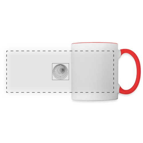 Fond - Mug panoramique contrasté et blanc