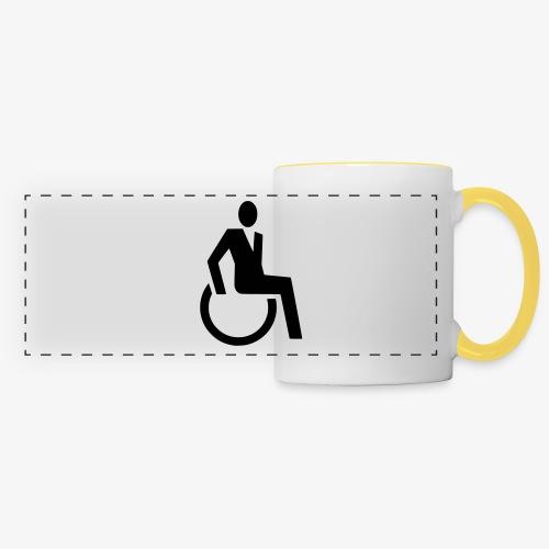 Sjieke rolstoel gebruiker symbool - Panoramamok